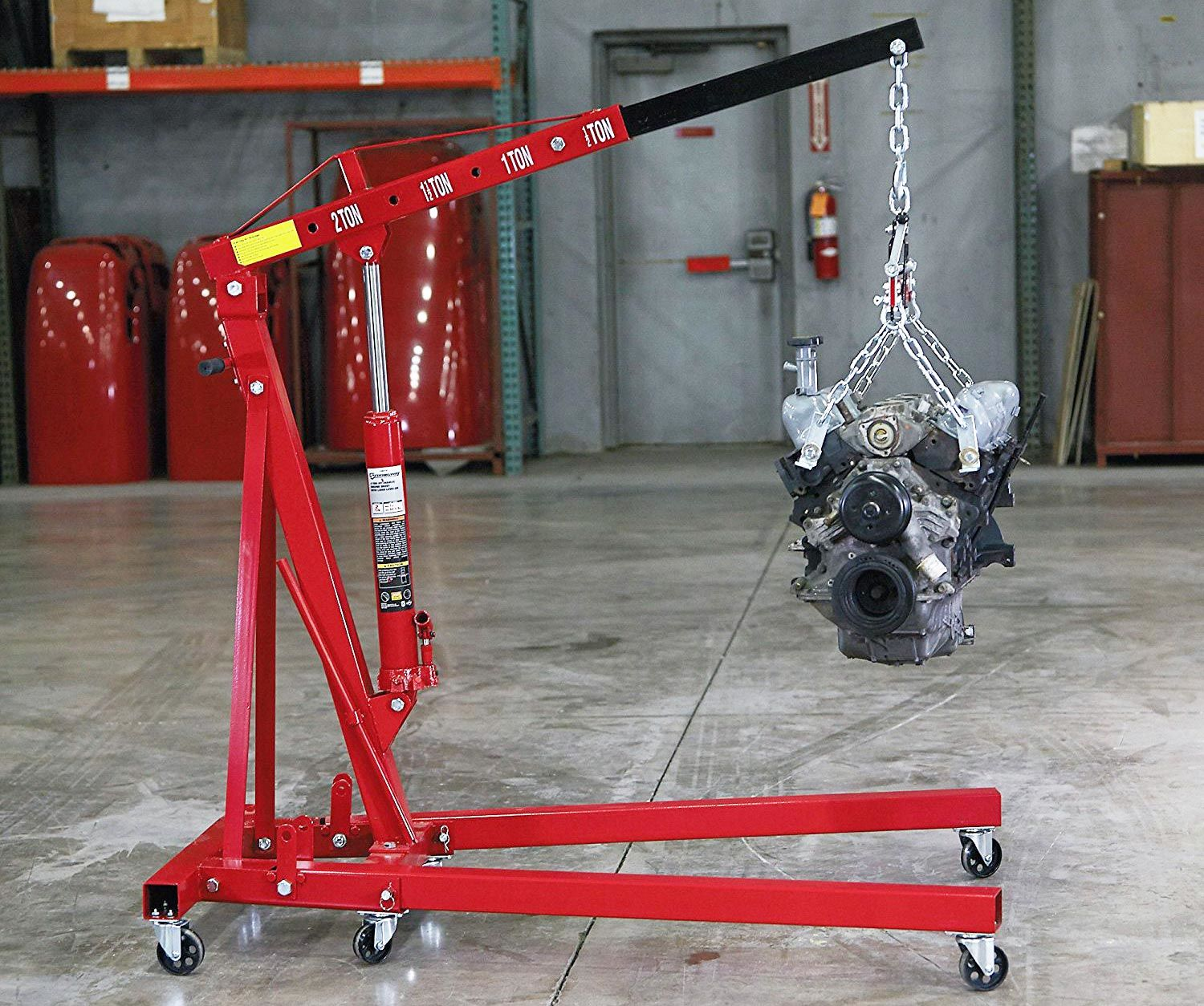 Engine Lift Arms : What s the number one engine hoist on market